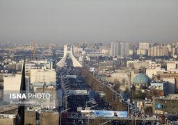 گزارش تصویری وداع مردم تهران با حاج قاسم سلیمانی