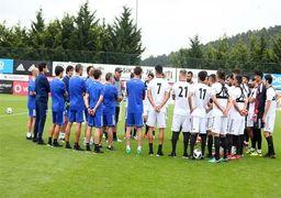 اولین تمرین تیم ملی فوتبال ایران در روسیه +گزارش تصویری