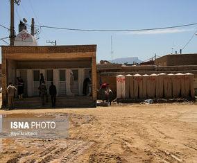 تصاویری از شهر پلدختر ۲۵ روز پس از سیل