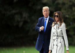 ناراحتی ترامپ از دست دادن همسرش با یک مرد +عکس