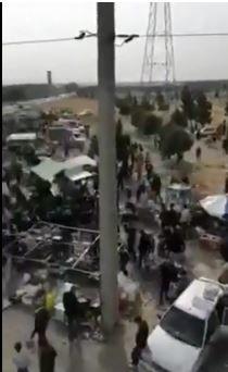 تصاویری از تجمع عجیب و غریب در جنوب تهران ساعتی پیش از شروع قرنطینه