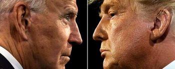 رقابت نزدیک ترامپ و بایدن در آراء مردمی