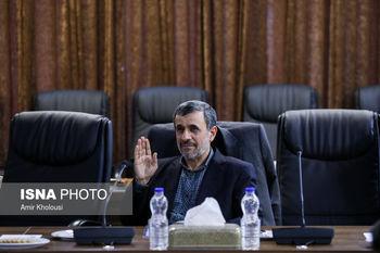 لباس غافلگیر کننده احمدی نژاد ! +عکس