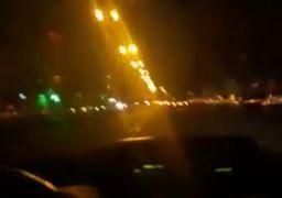 تعقیب و گریز بنز آگاهی و پراید در بزرگراههای تهران +فیلم