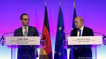 انتقاد تند وزرای خارجه آلمان و فرانسه از سیاست خارجی آمریکا
