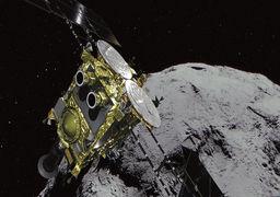رهاسازی بمب بر روی یک سیارک توسط ژاپن + ویدئو