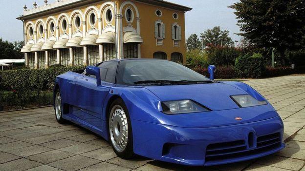 خودروی 9 میلیون دلاری بوگاتی (+عکس)