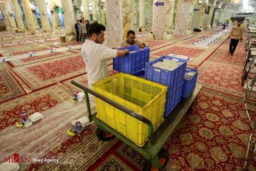 افطاری در حرم حضرت زهرا(س)15