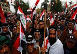 گزارش بیبیسی از تظاهرات ضدآمریکایی در بغداد