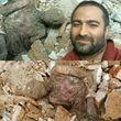 انتشار تصویری جنازه مومیایی شده در ری