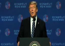 ترامپ: مذاکره با کیم بسیار سازنده بود / نمیتوانیم تحریمهای کره شمالی را لغو کنیم