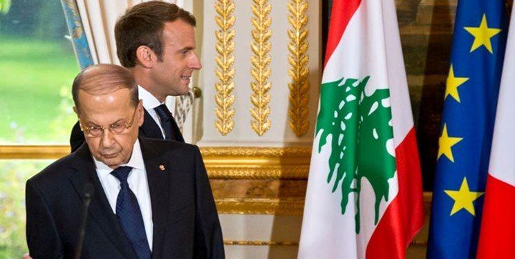 مداخله پاریس در امور لبنان و قرار دادن دو راه پیش روی «میشل عون»