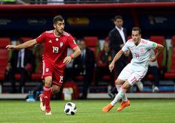 چگونه ملی پوش فوتبال ایران در جام جهانی با دو اسم بازی کرد