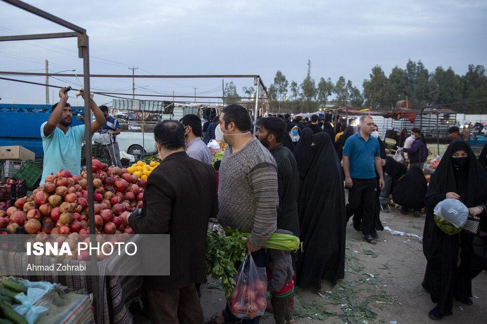u1kwj2mg9EB8 - جمعه بازار قم در شرایط کرونایی+تصاویر