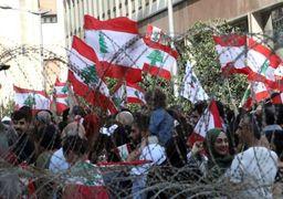 اعتراضات لبنان | انسداد مسیرهای منتهی به کاخ  «سعدحریری» و «میشل عون» + فیلم و تصاویر