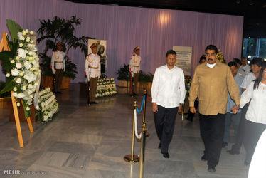 یادبود فیدل کاسترو در کوبا