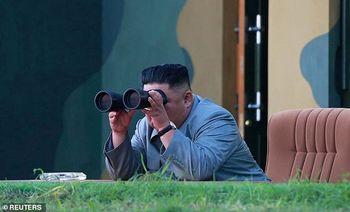 رهبر کره شمالی با سلاح جدیدش دلهره ایجاد کرد !