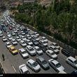 ترافیک نیمهسنگین در محور چالوس