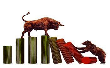 حمله خرس ها به بازار طلا