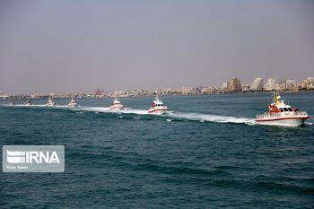 رزمایش مرکب دریایی ایران، روسیه و چین در شمال اقیانوس هند آغاز شد