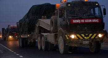 انتقال توپ و تانک ترکیه به مرز سوریه