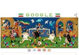 گوگل پیروزی تیم ایران را به کاربران تبریک گفت