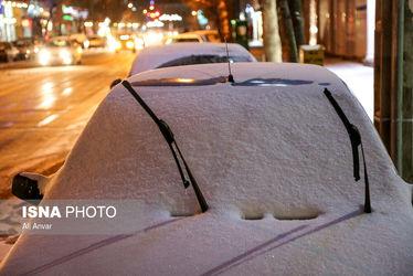 بارش برف اردبیل