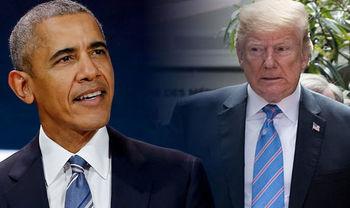ترامپ به اوباما: امشب آسوده بخواب