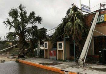 خسارت وحشتناک طوفان دلتا در آمریکا + عکس