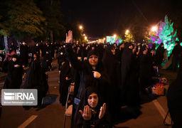 گزارش تصویری از مراسم شب قدرپشت دربهای بسته حرم امام هشتم شیعیان