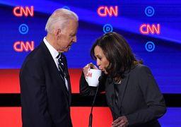 تصاویر جذاب مناظره انتخاباتی دموکراتها