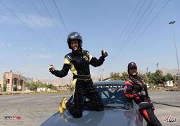 خواهران قهرمان اتومبیلرانی زنان در ایران