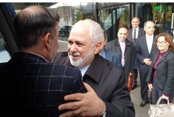 ظریف به استقبال آزادی مسعود سلیمانی رفت