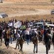 کردهای سوریه در شرق فرات دست به تجمع اعتراضی زدند