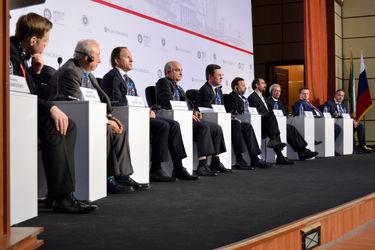 همایش تجاری ایران و روسیه