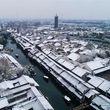 تصاویری از سفید پوش شدن چین
