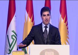 دومین رئیس اقلیم کردستان عراق فعالیت رسمی خود را آغاز کرد
