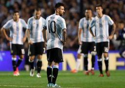ضرر هنگفت مالی آرژانتین از عدم صعود به جام جهانی