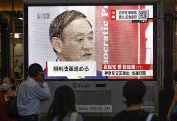 سوگا رسما نخست وزیر ژاپن شد