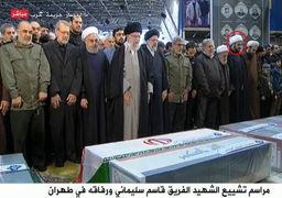 تصاویری از حضور چهرههای سیاسی و نظامی در مراسم تشییع سردار سلیمانی