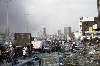 پیشداوری های عجیب رسانه های عربستان درباره منشا انفجار بیروت