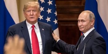دفاع پوتین از ترامپ در بحبوبه اعتراضات