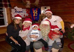 جدید ترین عکس لیونل مسی با خانواده