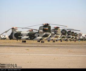 رونمایی از 12 بالگرد بازسازی شده ارتش