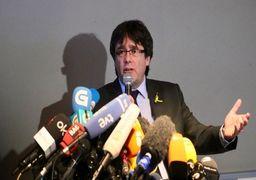 استرداد رئیس برکنار شده کاتالونیا به اسپانیا
