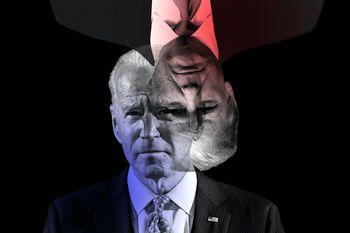 سقوط محبوبیت رئیسجمهور  افزایش فاصله جو بایدن و ترامپ در نظرسنجیها