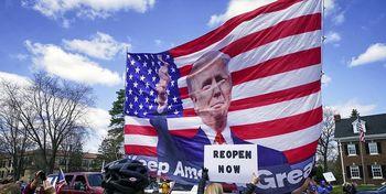 جنگ ترامپ با فرمانداران ایالتی تشدید میشود