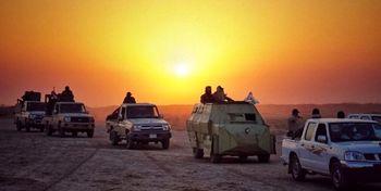 مقاومت حشدالشعبی در مقابل داعش در موصل