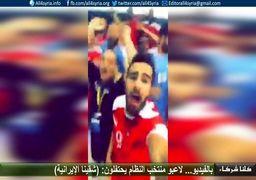 گستاخی و بی حرمتی سوریها علیه ملی پوشان ایرانی