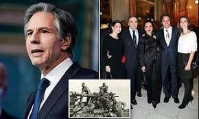 ادای احترام بلینکن به خانوادهاش در مراسم معرفی خود به عنوان وزیر خارجه